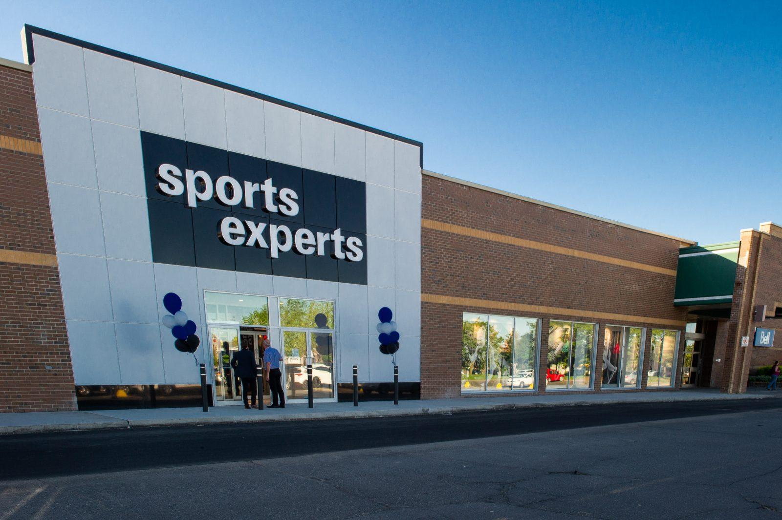 Sports Experts dévoilera son magasin rénové demain
