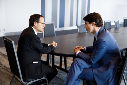 Alexandre Cusson dit non à Justin Trudeau