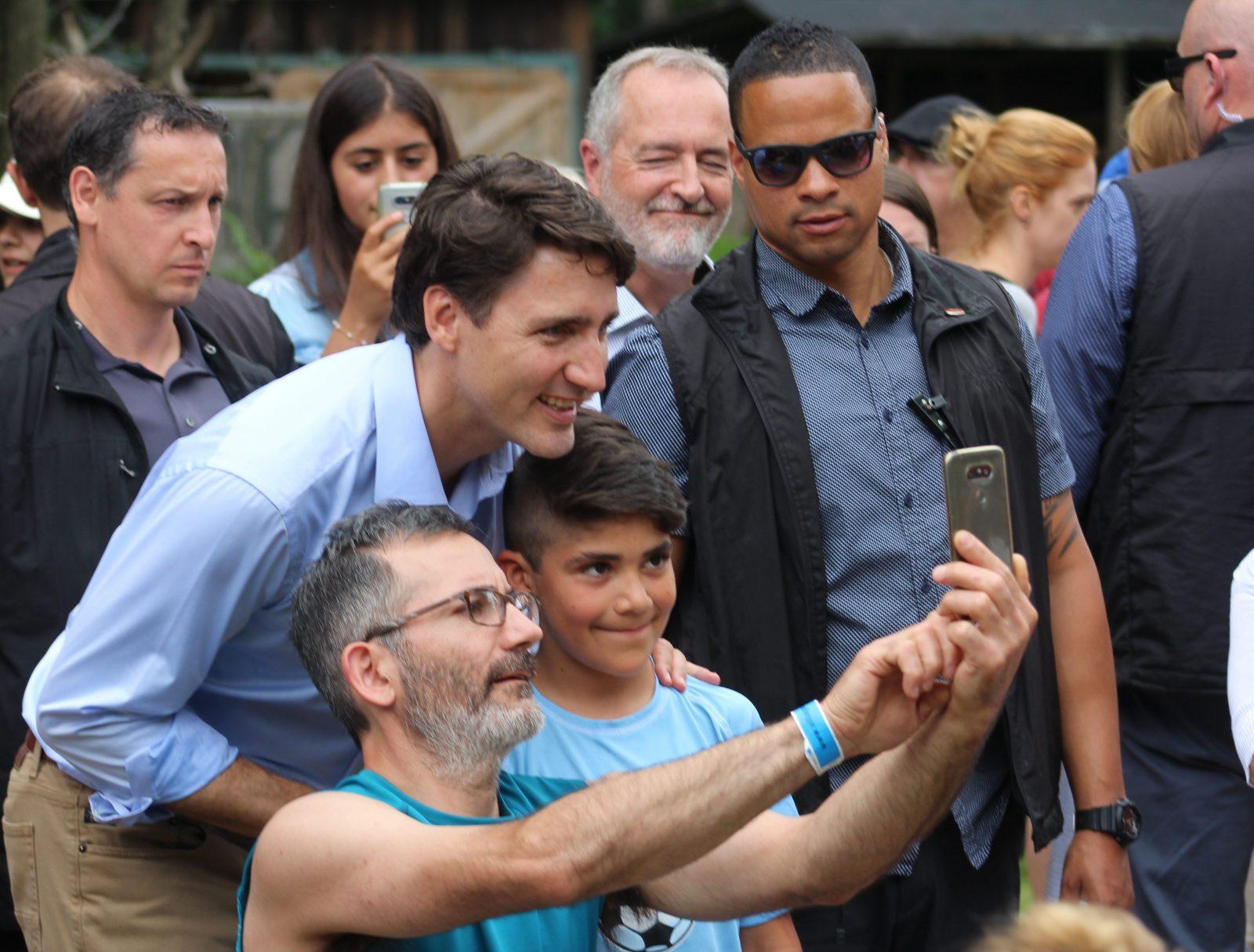 Justin Trudeau marque un arrêt à Drummondville