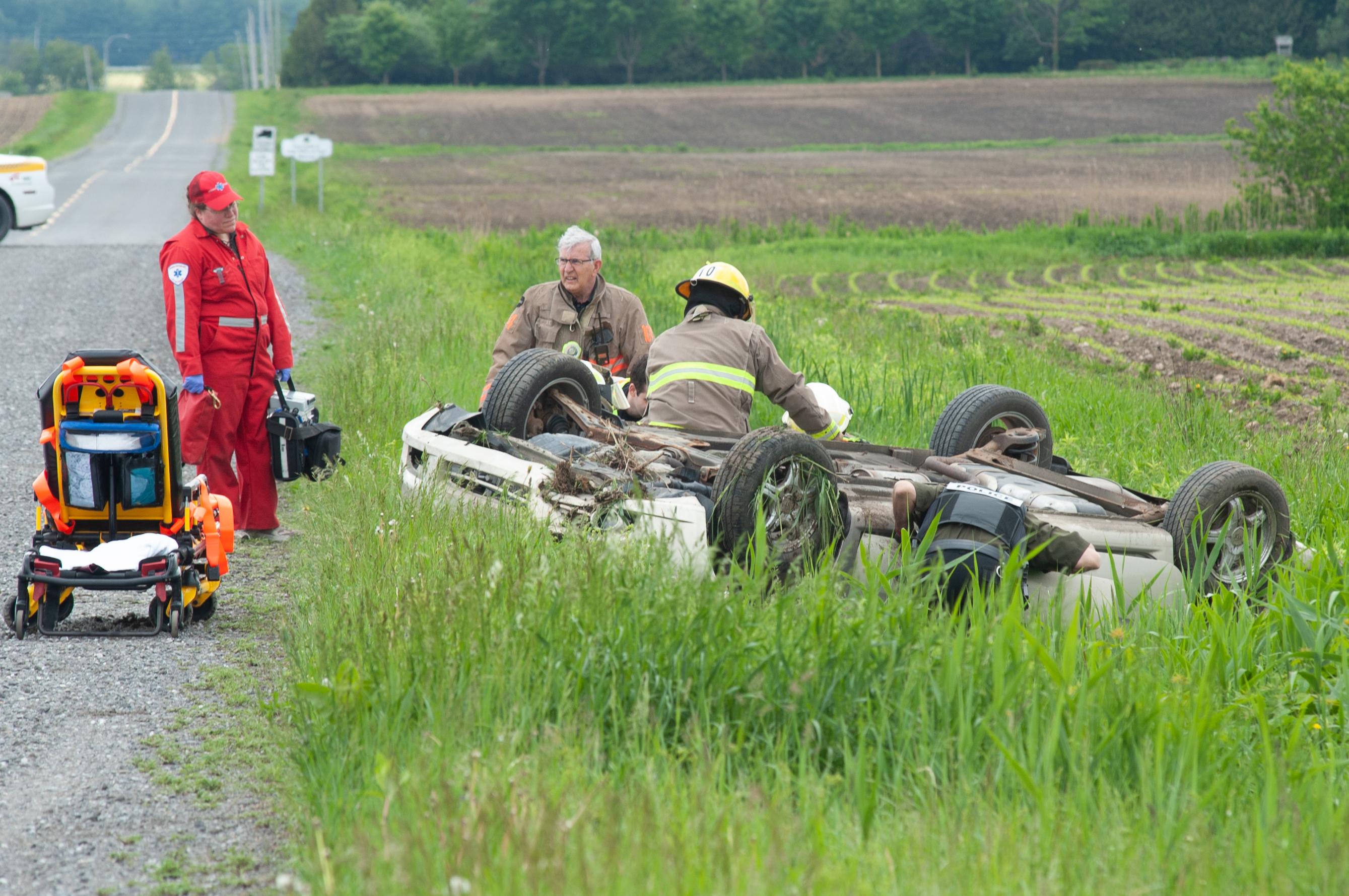 La route fait un mort à Saint-Eugène-de-Grantham (mise à jour)