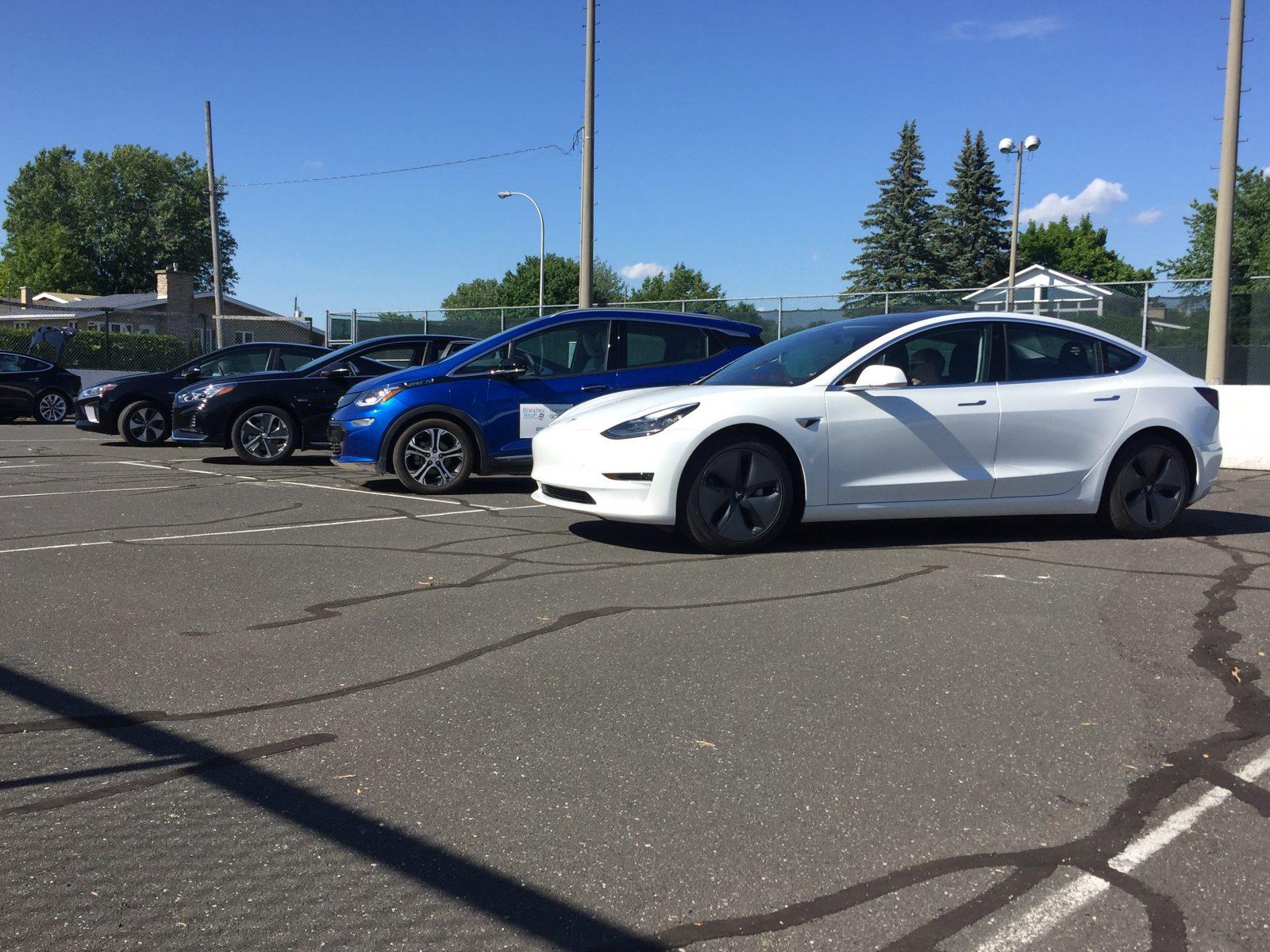 Les Drummondvillois invités à essayer des véhicules rechargeables