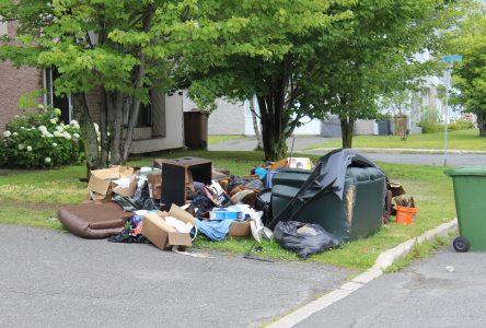 Drummondville souhaite détourner les gros rebuts de l'enfouissement