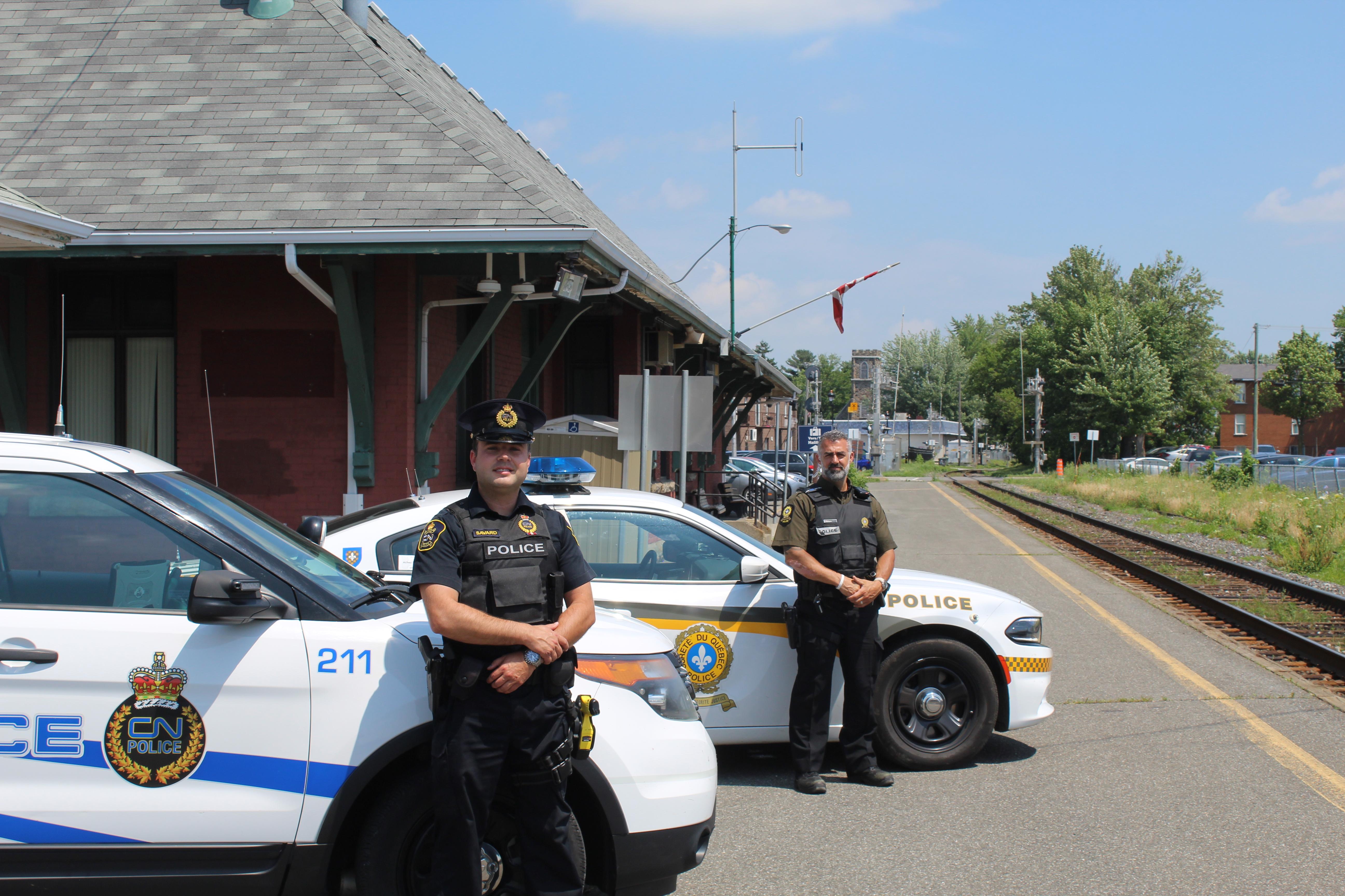 La sécurité est la priorité numéro 1 de la police du CN