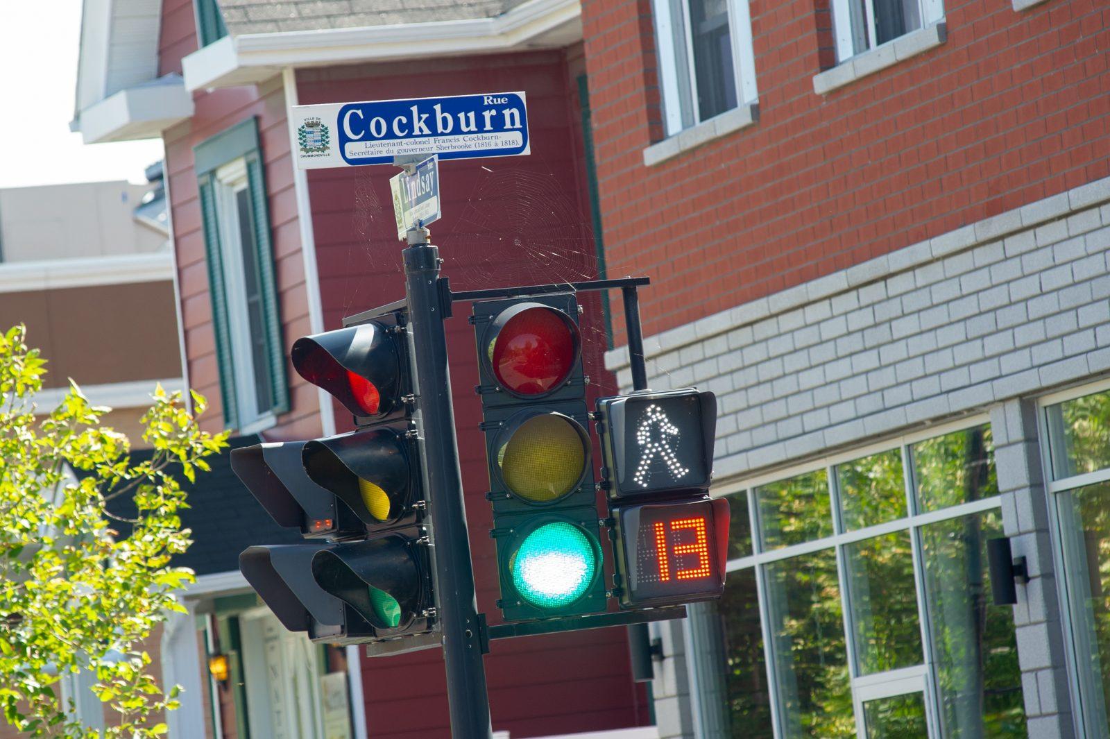 Nouvelle signalisation au centre-ville