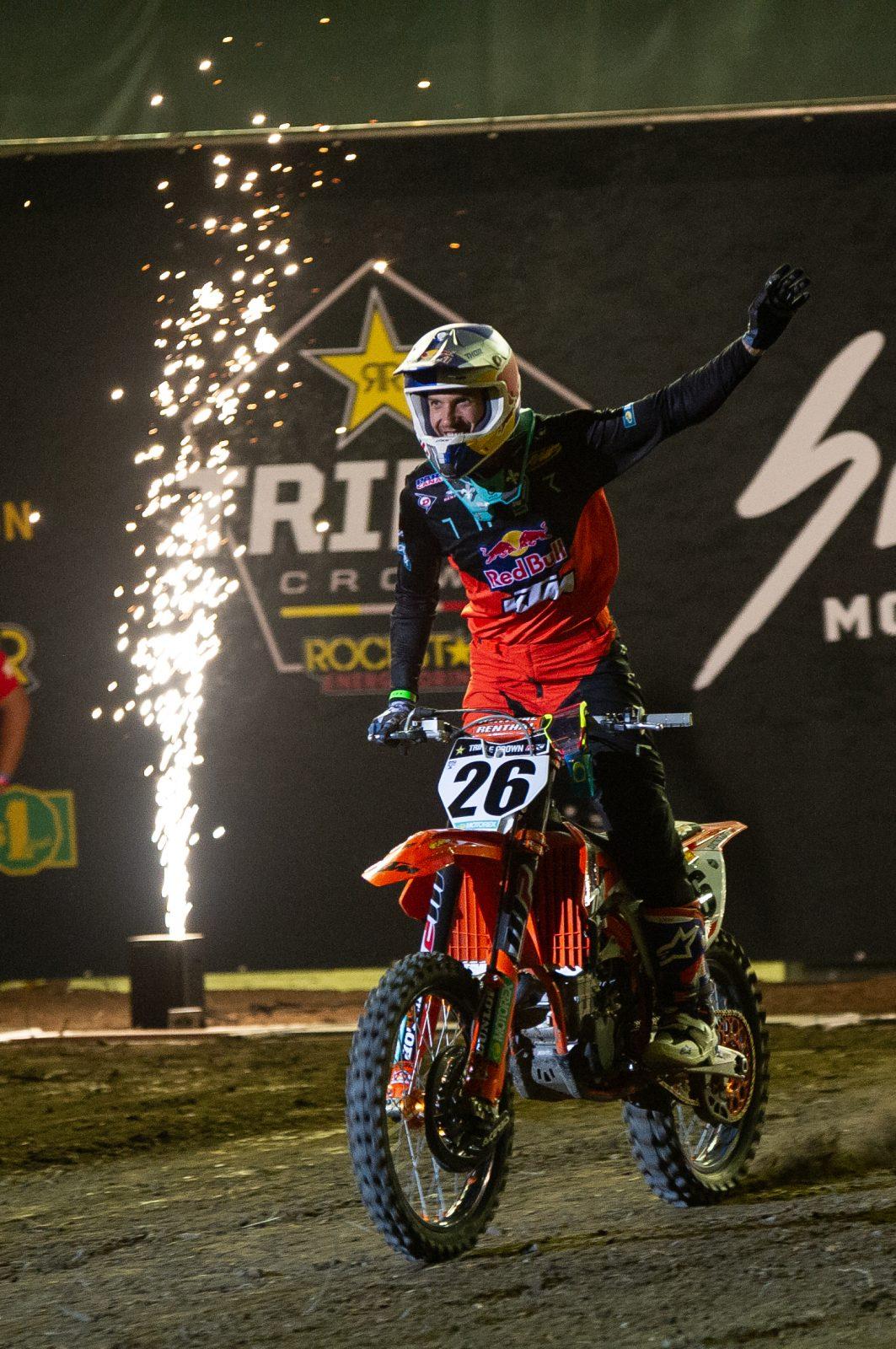 Kaven Benoit sort de sa retraite en motocross