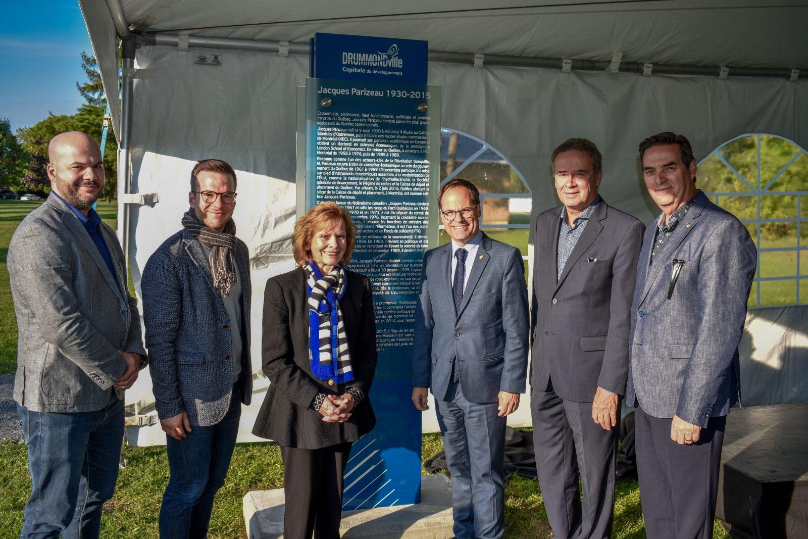 Parc Jacques-Parizeau : la Ville rend hommage à un bâtisseur québécois