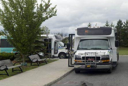 Transport en commun : près de 451 000 $ pour desservir le parc industriel