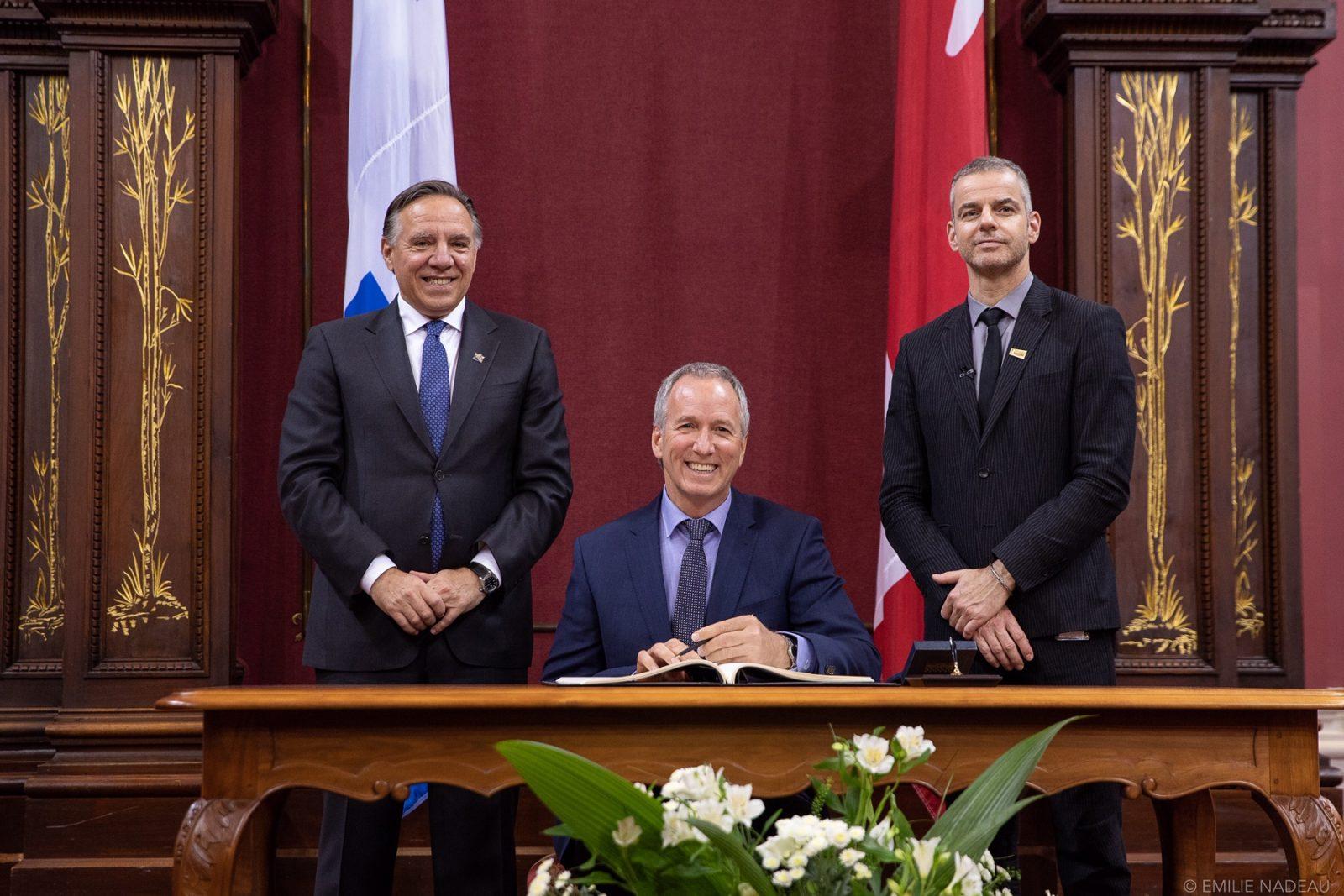 André Lamontagne nommé au conseil des ministres