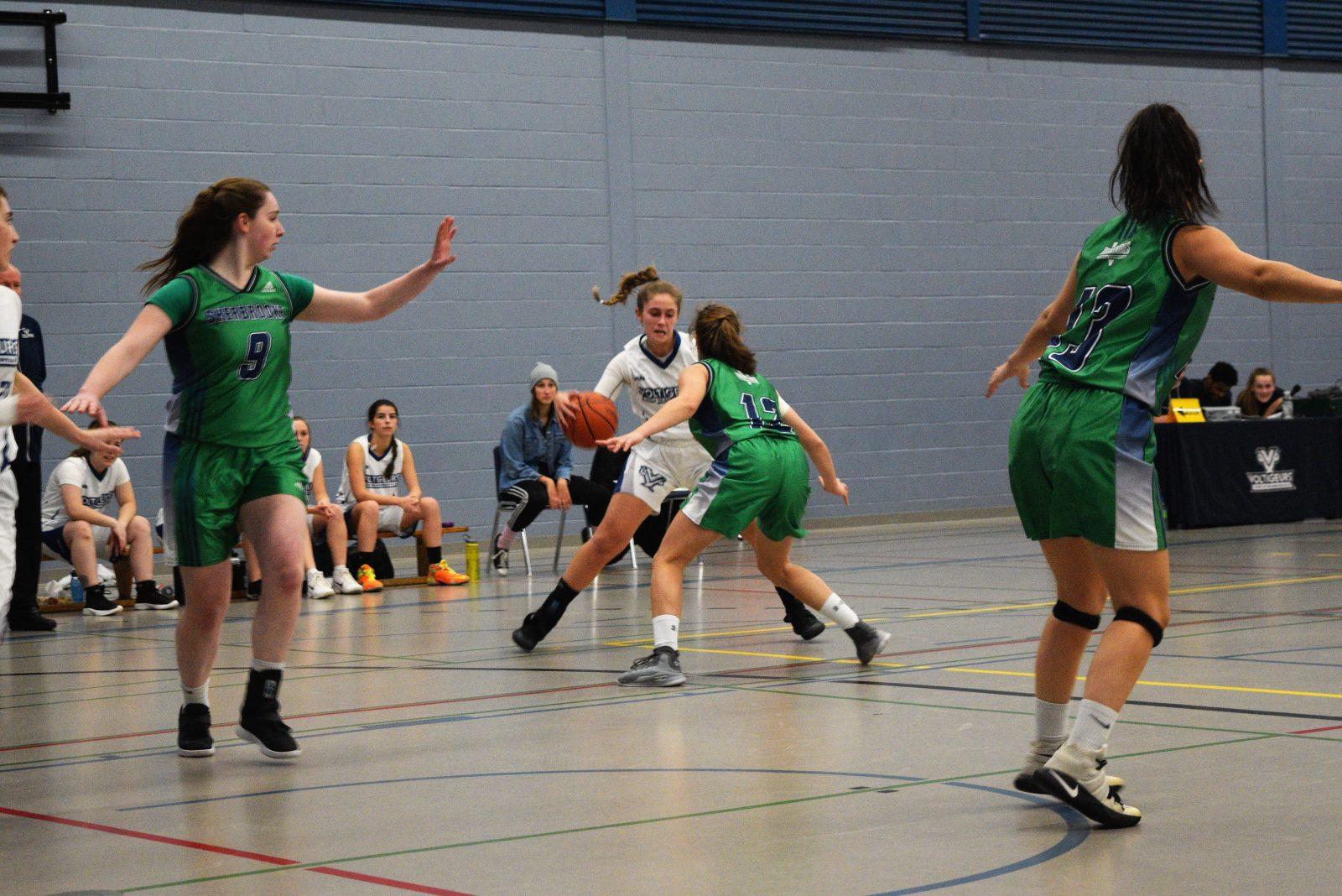 Une saison de transition pour le basketball collégial