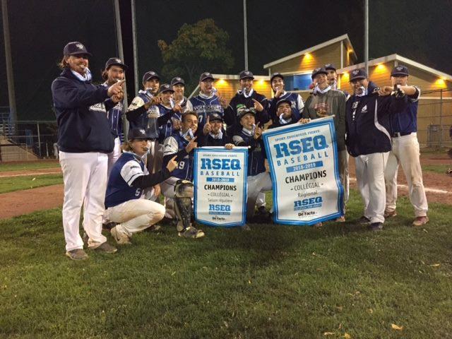 Baseball: les Voltigeurs champions des séries