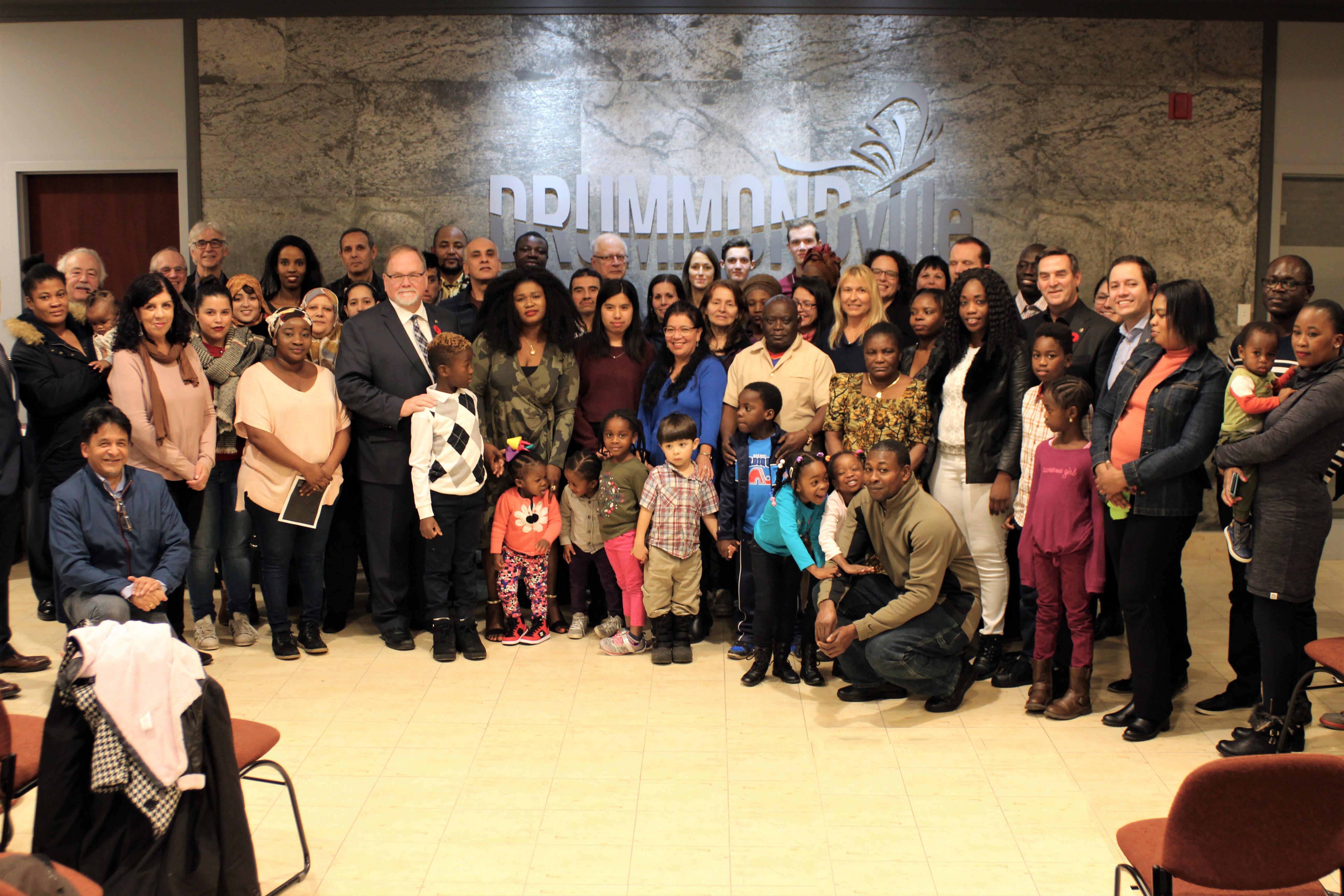 Drummondville a accueilli chaleureusement les nouveaux arrivants
