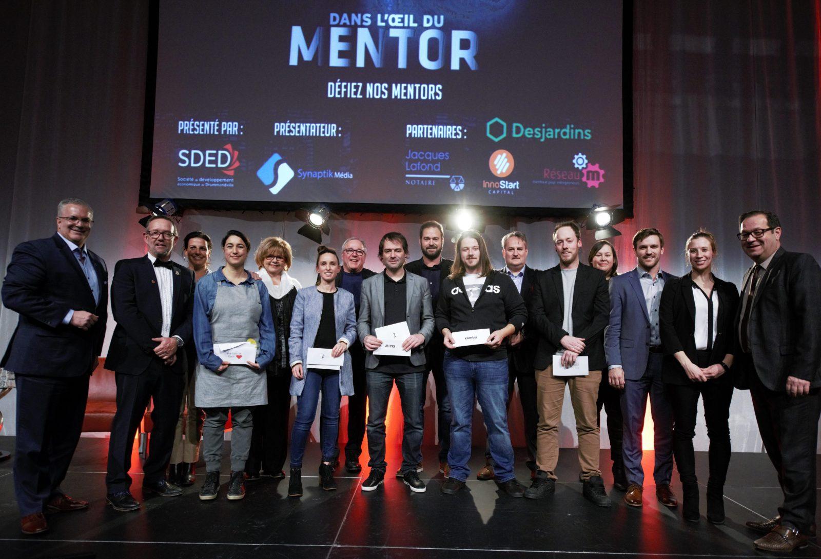 Dans l'œil du Mentor: Groupe Axess grand gagnant de l'édition