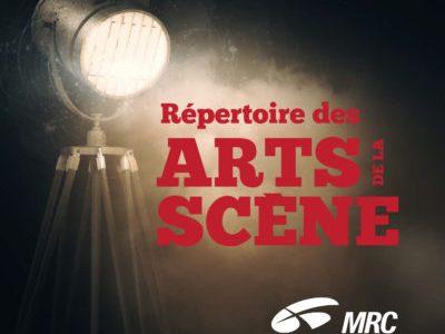 MRC Drummond : premier répertoire des arts de la scène