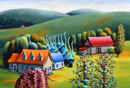 «La nature selon Francine Laplante», une exposition rétrospective
