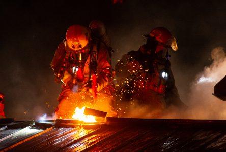 Incendie à Saint-Germain-de-Grantham (mise à jour)