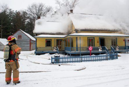 Village québécois d'antan : la maison Faucher sera réparée