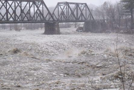 Baisse du niveau des eaux à Drummondville