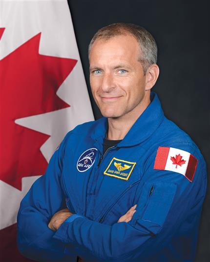 David Saint Jacques part pour la Station spatiale internationale