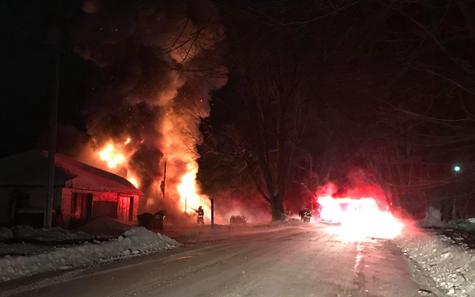 Incendie à Sainte-Clotilde-de-Horton : une quarantaine de chiens ont péri (mise à jour)