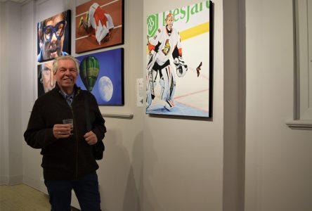 Bernard Brault expose 42 ans de passion