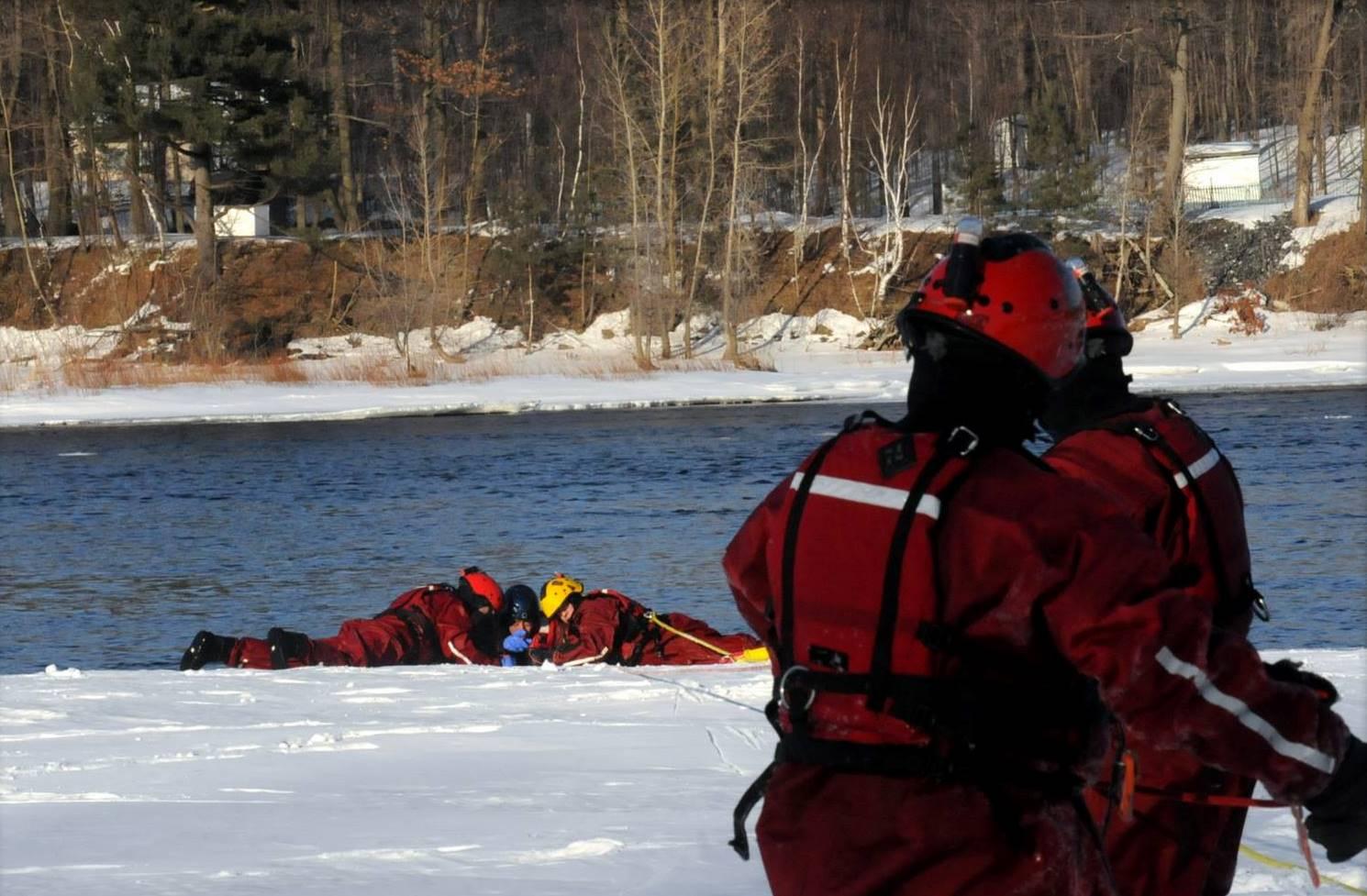 Les pompiers feront des exercices de sauvetage sur la rivière