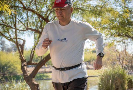 Un 100e ultramarathon pour Michel Gouin