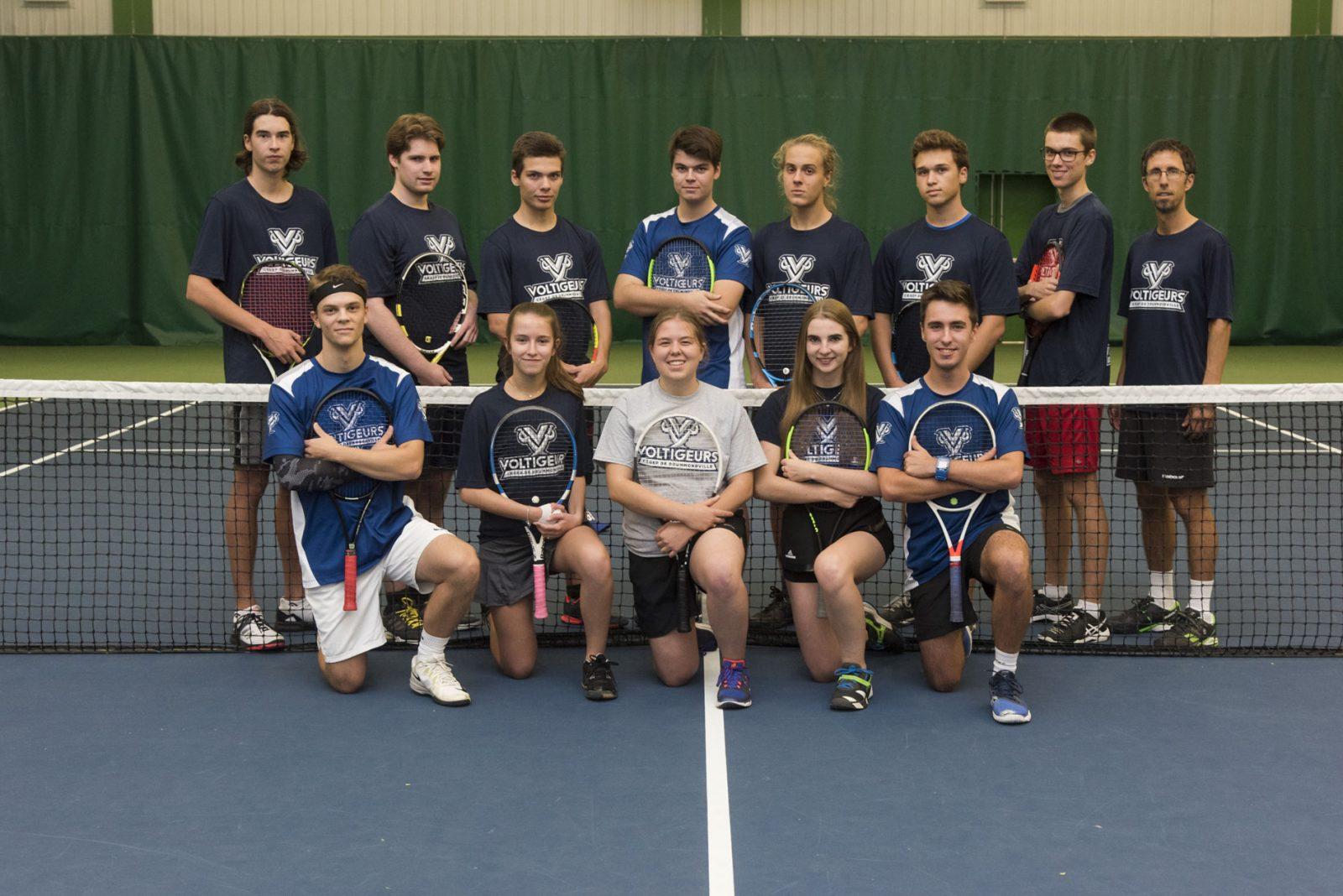 Tennis collégial: les Voltigeurs visent les grands honneurs