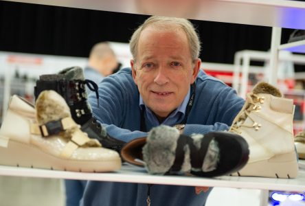 Le Centrexpo accueille un immense «showcase» de souliers