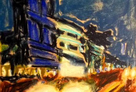 «Premier geste» de Stephan Lonergan: peindre avec spontanéité