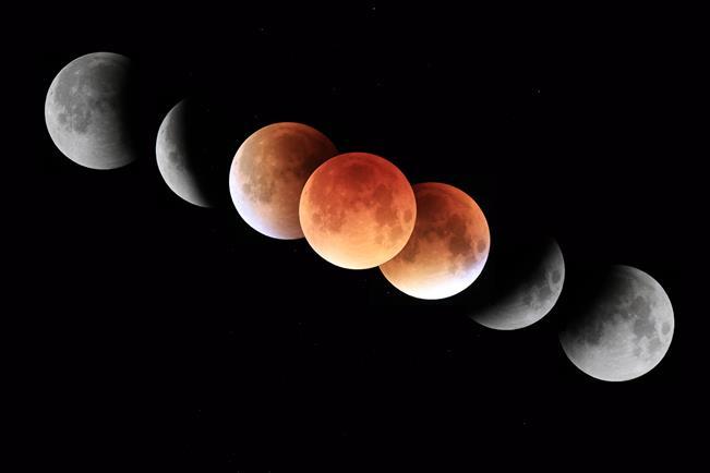 Une éclipse lunaire aura lieu dans la nuit du 20 au 21 janvier