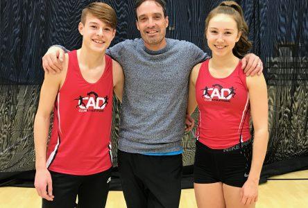 Deux athlètes drummondvillois dans l'équipe d'athlétisme du Québec
