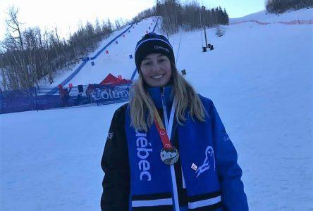 «J'ai skié avec mon cœur» – Sandrine Vaillancourt