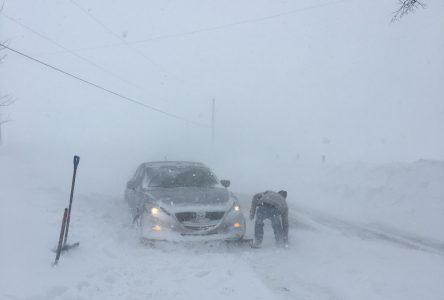 L'autoroute 20 Ouest est fermée