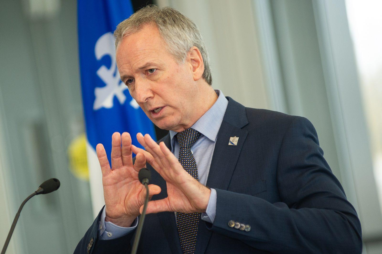 Le ministre Lamontagne admet son erreur