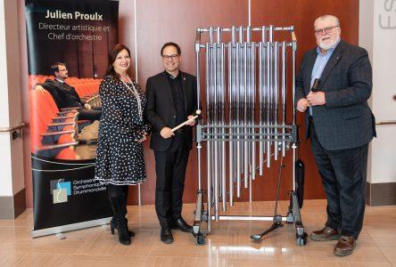 L'OSD acquiert un carillon tubulaire