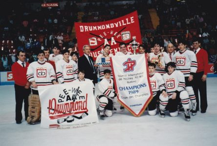 Drummondville, première ville gagnante de la coupe des Champions