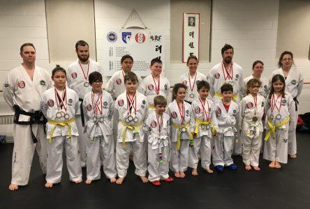 25 médailles de plus pour les élèves de Phan Taekwon-do Drummondville
