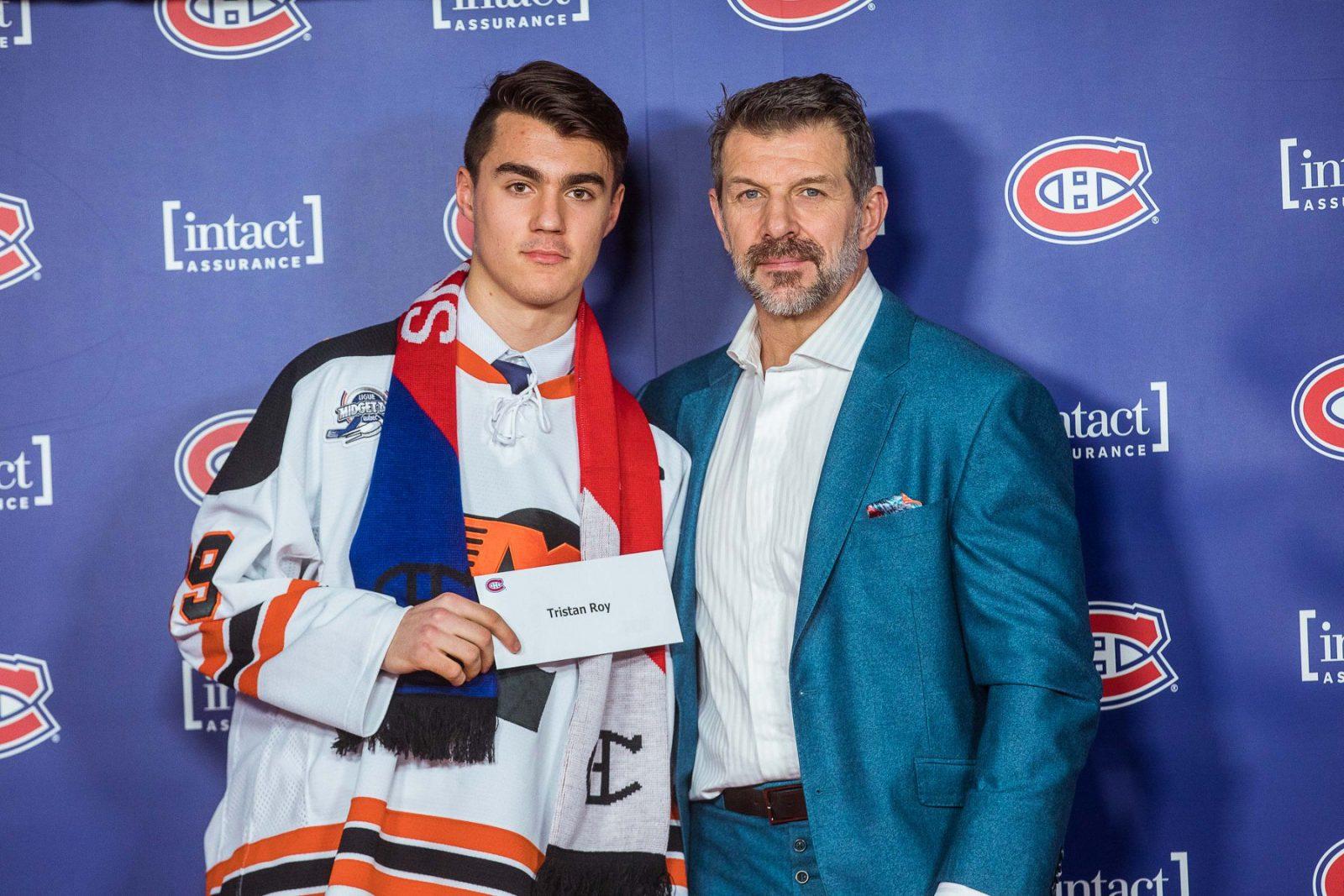 Deux hockeyeurs cyrillois appuyés par les Canadiens