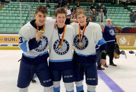 Tristan Roy et les Québécois médaillés d'or