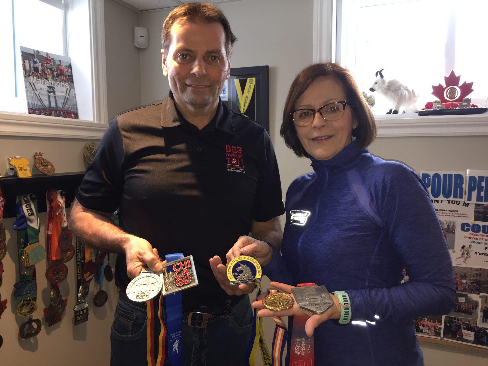 Courir, une passion contagieuse pour Carl Houle et Andrée Lanoie