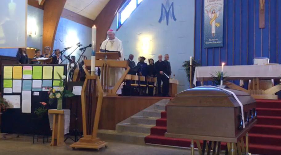 Un dernier hommage rendu à l'abbé Gérard Marier