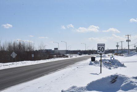 Nouvelle limite de vitesse sur le boulevard Industriel