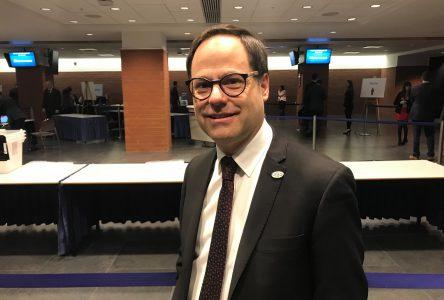 Alexandre Cusson reconduit à la présidence de l'UMQ