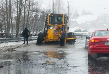 La Ville a utilisé une quantité record de sel de déglaçage
