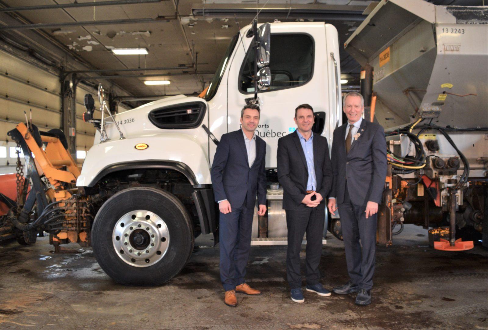 Plus de 144M$ prévus pour le réseau routier au Centre-du-Québec
