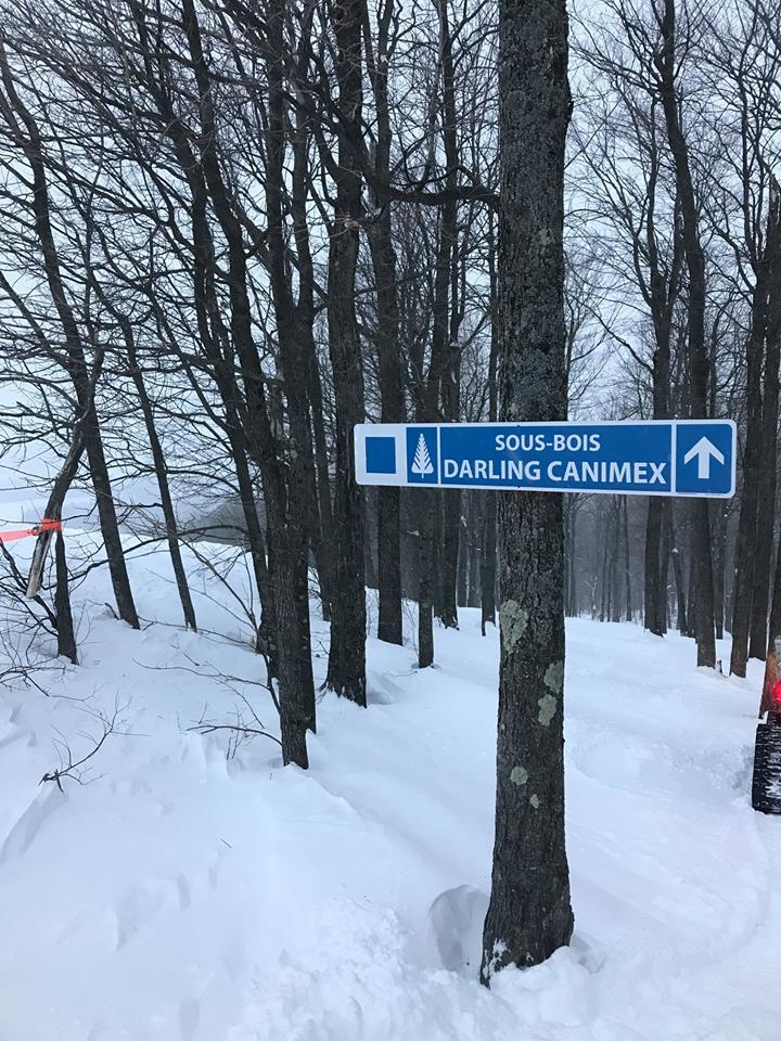 Une piste de ski à la mémoire d'Huguette Dubois