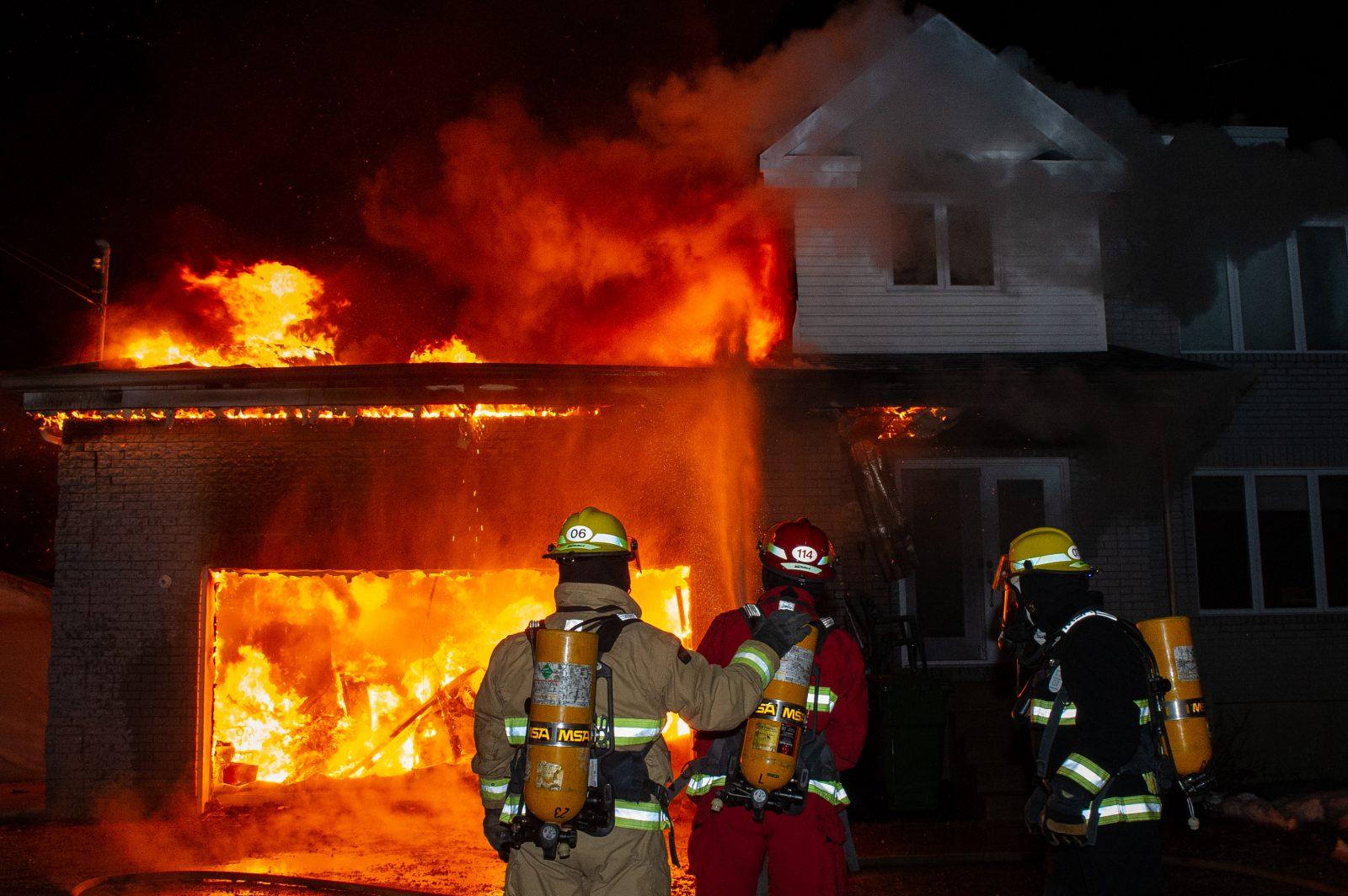 Violent incendie à Wickham (Mise à jour)