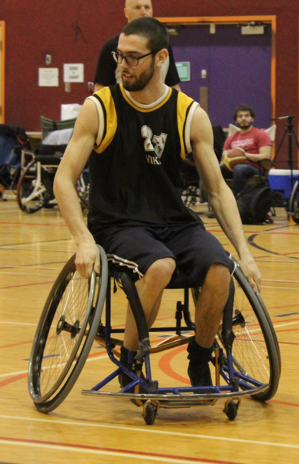 Basketball en fauteuil roulant: les finales provinciales à Drummondville
