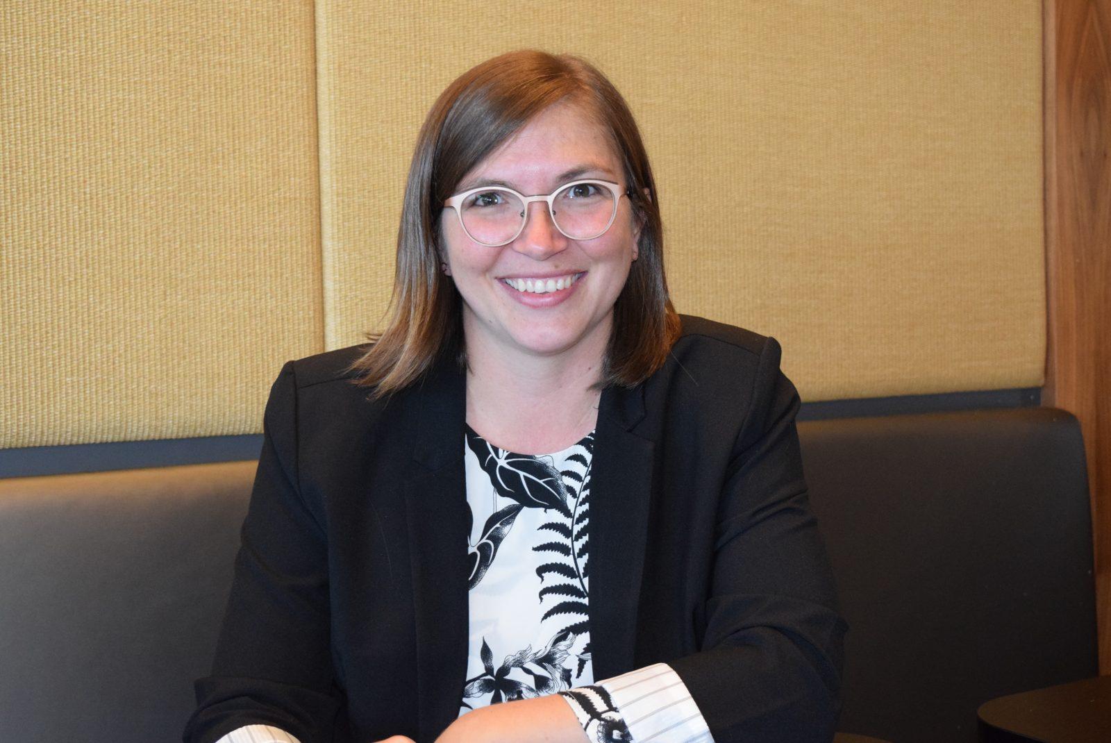 Sarah Saint-Cyr Lanoie veut succéder à la conseillère Isabelle Marquis