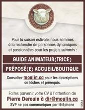 Logo de GUIDE ANIMATEUR(TRICE) / PRÉPOSÉ(E) ACCUEIL